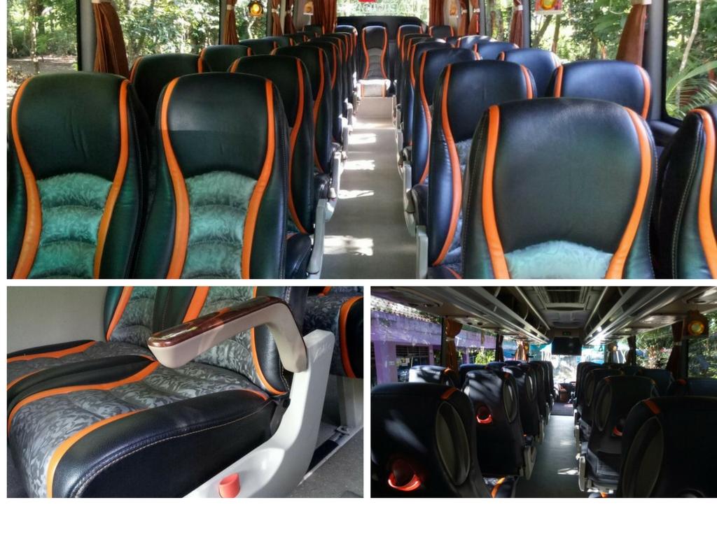 Bus Tampak Dalam